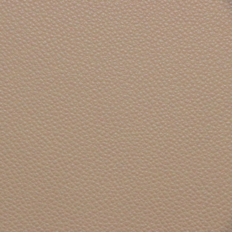 1/2 Yard Beige Pebble Faux Leather