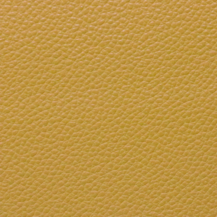 Mustard Pebble Faux Leather By the Inch