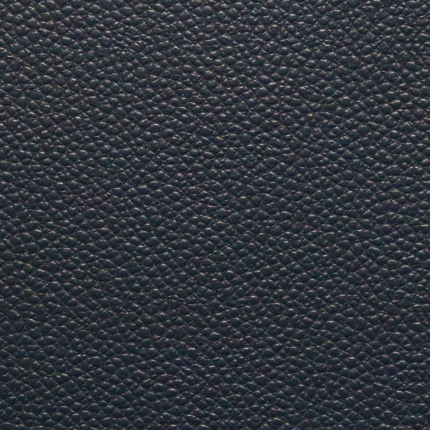 Navy Pebble Faux Leather By the Inch
