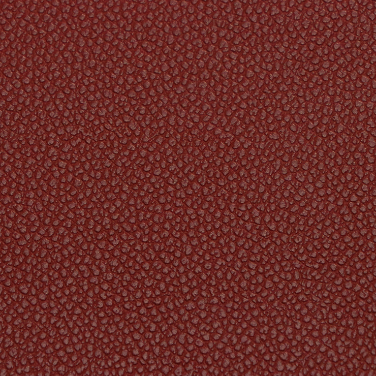 1/2 Yard Cherry Pebble Faux Leather
