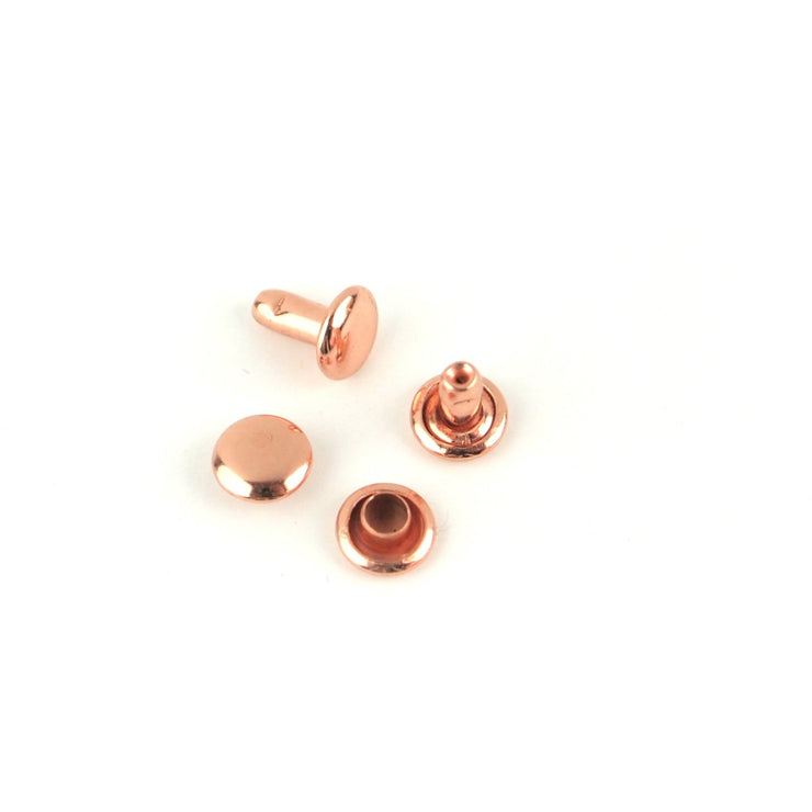 24 Small Rivets 6mm