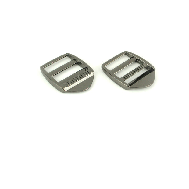 Two Ladder Lock Slider Buckles 1""
