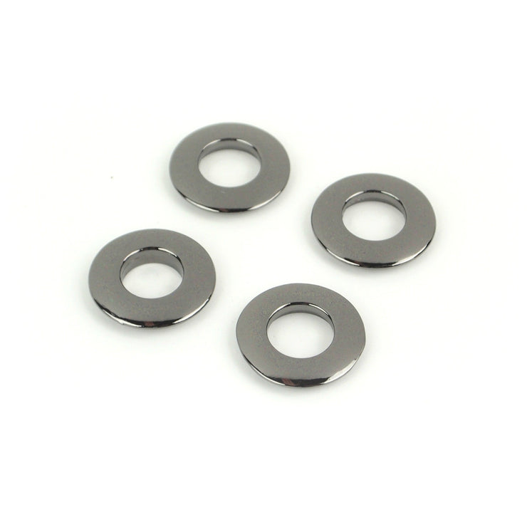 Four Double Faced Snap Together Grommets 12mm