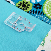 "Baby Lock: Clear 1/4"" Quilting Foot"