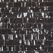 1/2 Yard Cut: PRO Natural Black Silver Flecked Cork Fabric