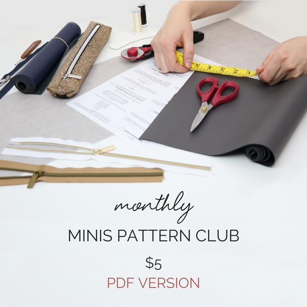 Monthly Minis Pattern Club (PDF version Only)