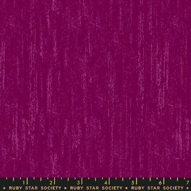 Ruby Star Society Tiger Fly Brushed Metallic Purple Velvet RS2005 13 - By the Inch