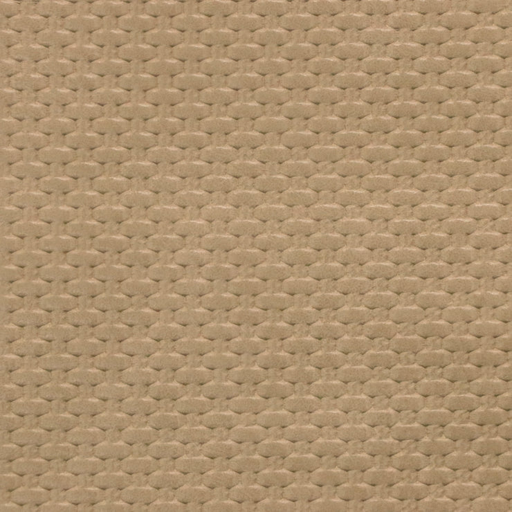 1/2 Yard Beige Weave Faux Leather