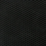 1/2 Yard Black Weave Faux Leather