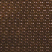 1/2 Yard Brown Weave Faux Leather