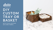 Custom Tray or Basket Instant Download