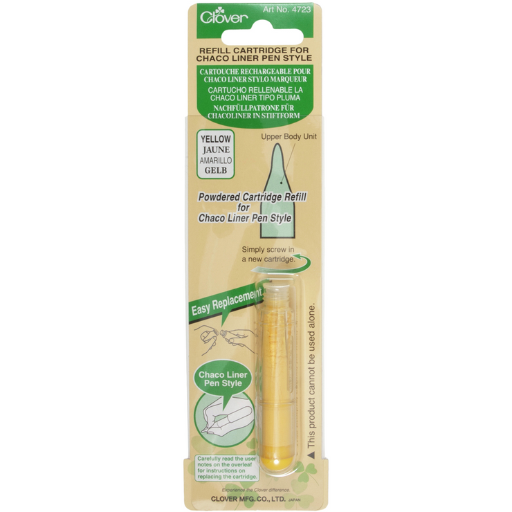 Clover Refill Cartridge for Chaco Liner Yellow