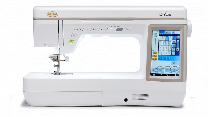Baby Lock Quilting and Sewing Machine - Aria