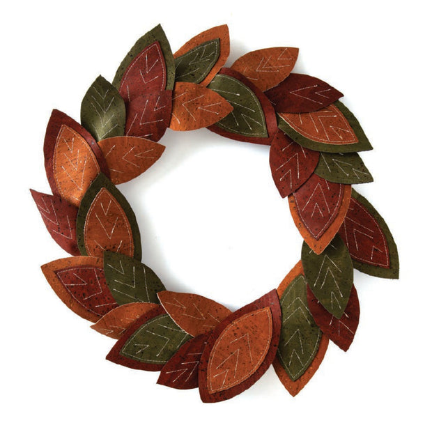 Make-it Take-it Cork Fabric Wreath: Tuesday, October 6, 2020