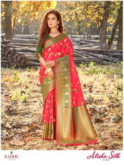 Gorgeous soft weaving silk fancy beautiful saree