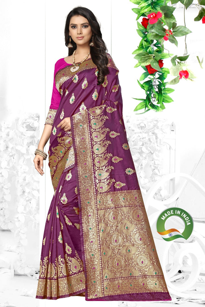 Banarasi Soft Weaving Silk Saree
