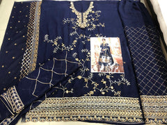 Designer Suit Embroidery Work