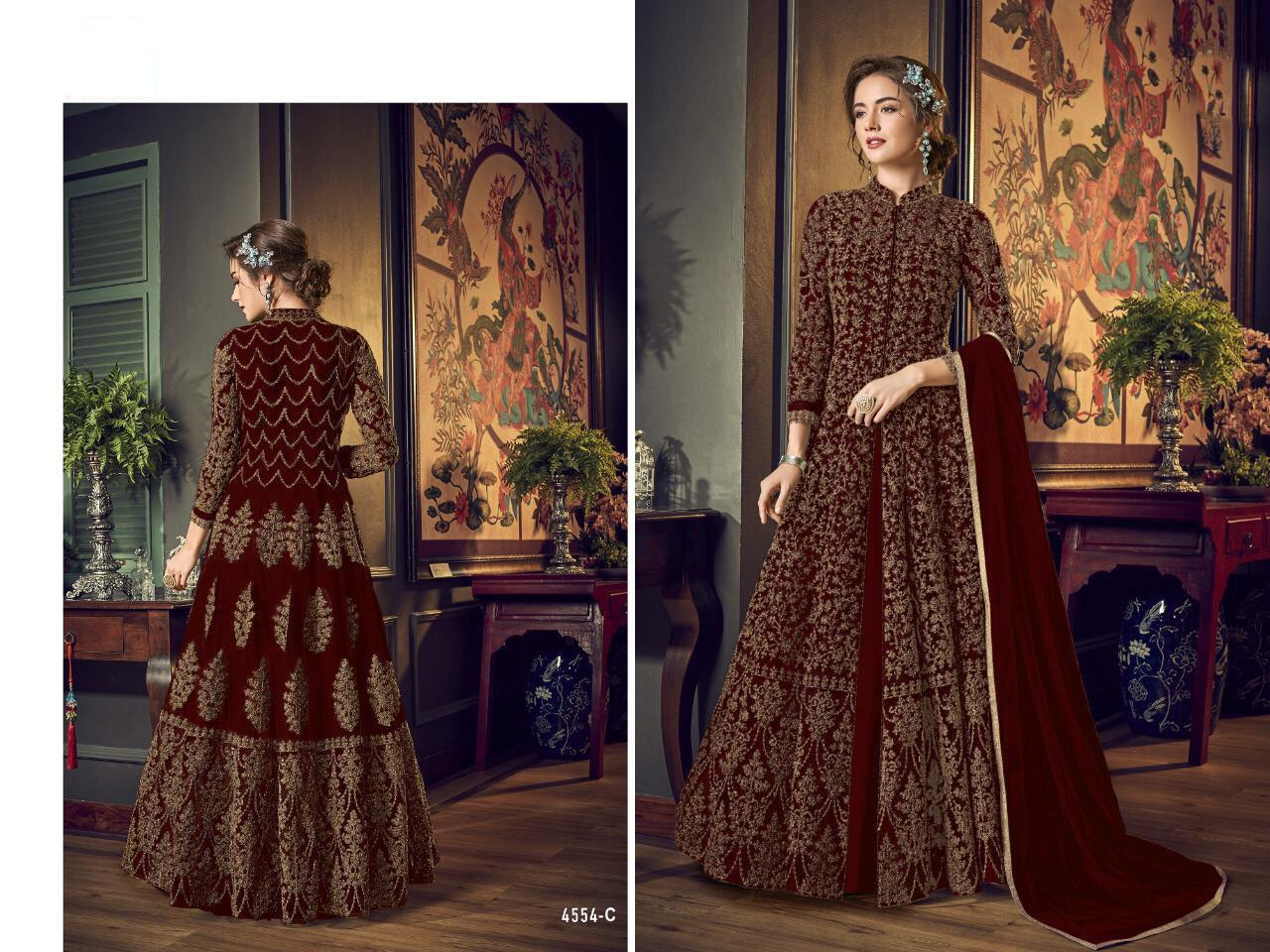 Anarkali Suit Heavy Sequence Coding Work