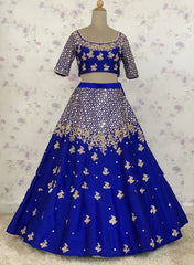 REAL MIRROR WORK LEHENGA CHOLI