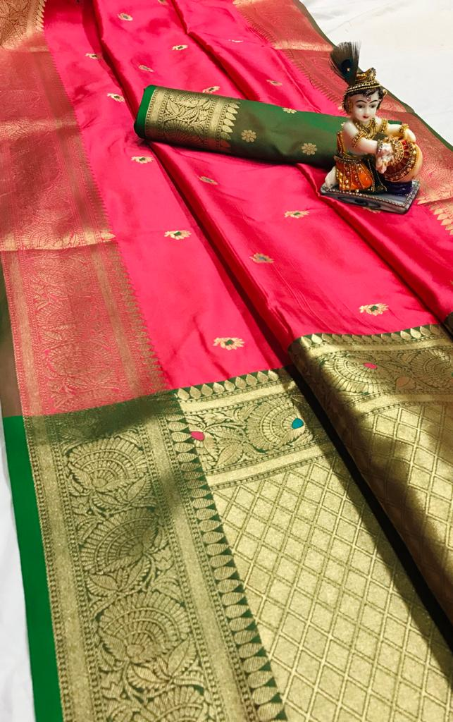 LICHI SILK SAREE
