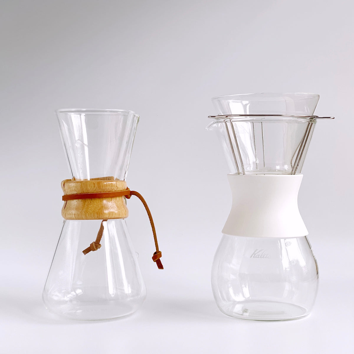 Chemex vs Kalita wave set