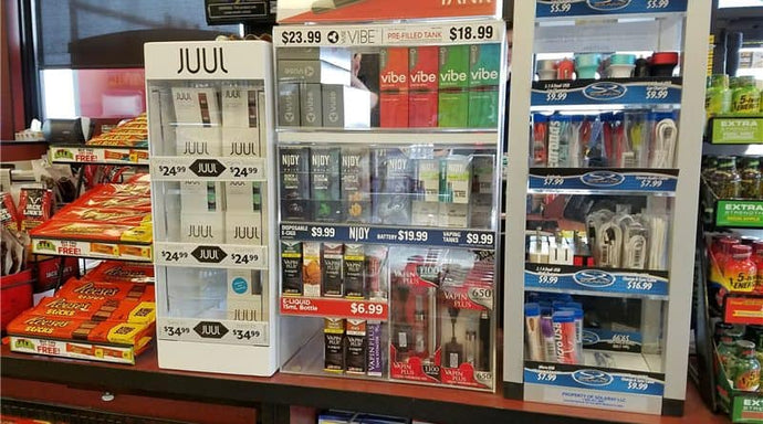 Ontario Makes a Move: Vaping Products to be Banned from Convenience Stores