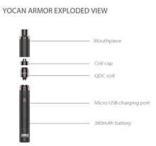 Load image into Gallery viewer, Yocan Armor Wax Vaporizer