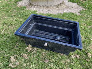 Lot 23. Water Trough