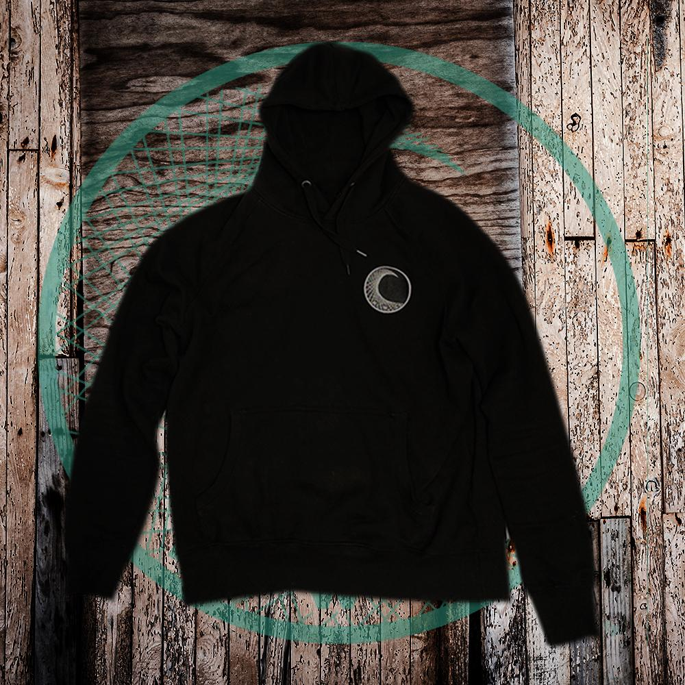 Black Classic Eco Friendly Hoodie - NWC Front Logo