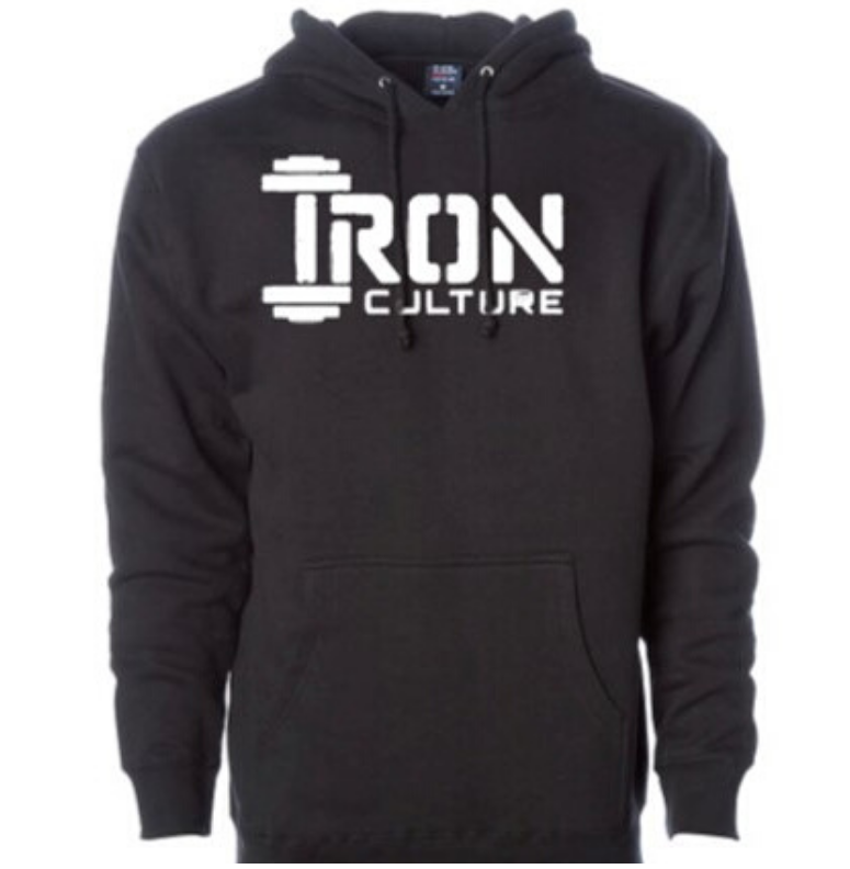 Black Hoodie - Iron Culture Merchandise