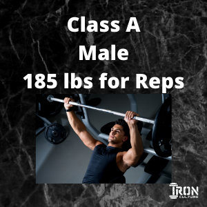 Bench Press Class A Male - Iron Culture Merchandise
