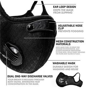 IC Sports Mask - Iron Culture Merchandise