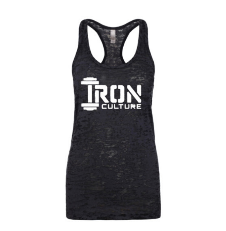 Black Tanktop - Iron Culture Merchandise