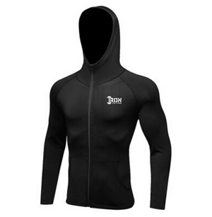 Performance Zip Up Hoodie - Iron Culture Merchandise