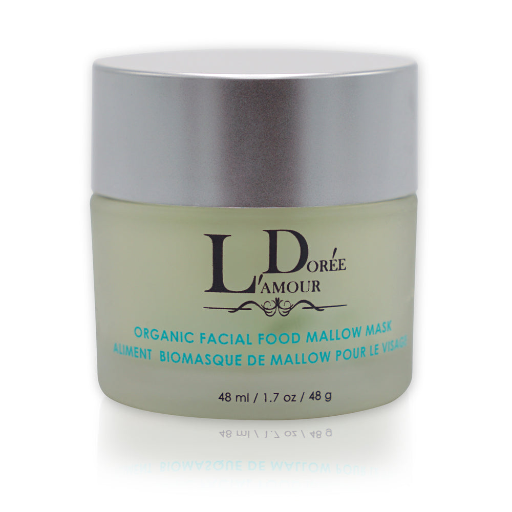 ORGANIC FACIAL FOOD MALLOW MASK - lamourdoree
