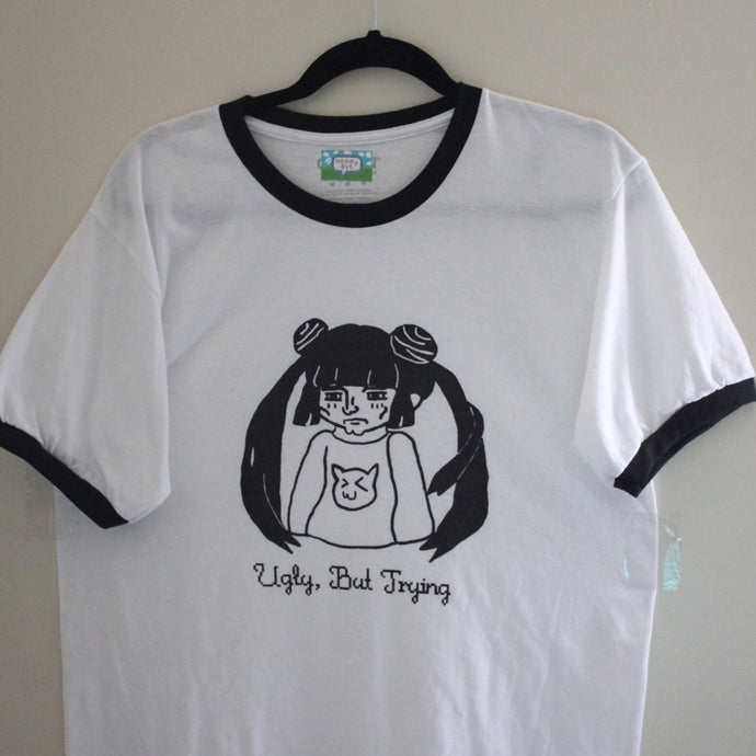 [Discontinued] Ugly But Trying Ringer Tee