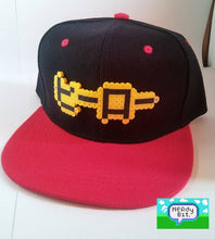 "Load image into Gallery viewer, 8-Bit Japanese ""Hero"" Snapback"
