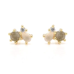 Dash Gold Earrings