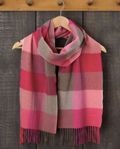 Pink Fields Scarf