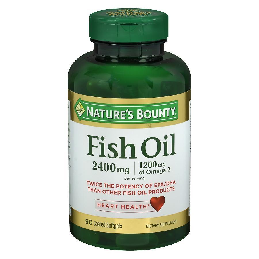 Nature's Bounty Odorless Fish Oil, Softgels90.0ea