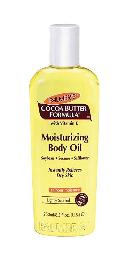 Palmer's Cocoa Butter Formula Lightly Scented Fast Absorbing With Vitamin E Moisturizing Body Oil, 8.5 fl oz