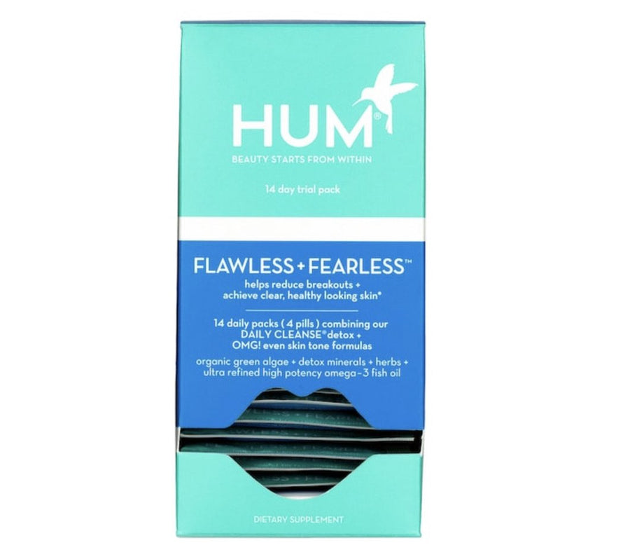 HUM NUTRITION Flawless + Fearless Breakout Control Kit