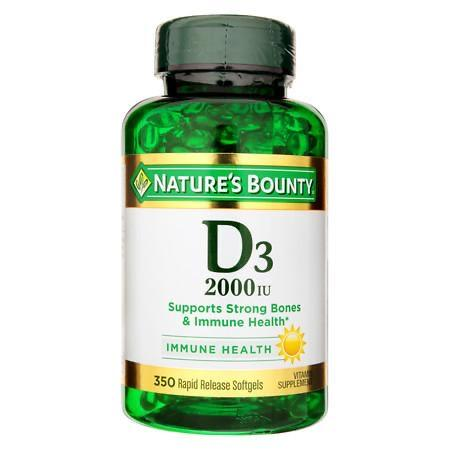 Nature's bounty supper strength D3