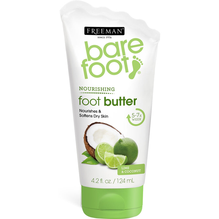 Freeman Bare Foot Lime + Coconut Butter Cream Lotion