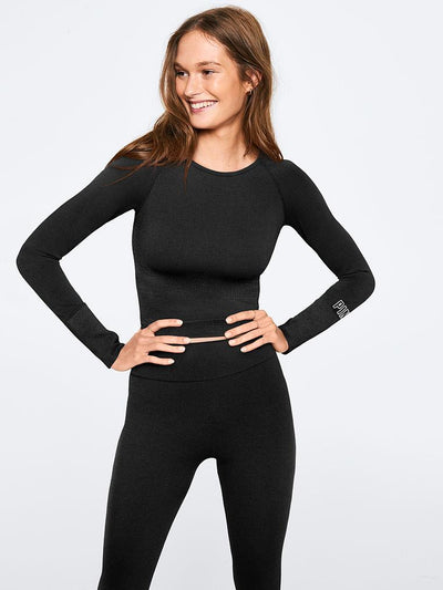 SEAMLESS WORKOUT CROPPED CREW