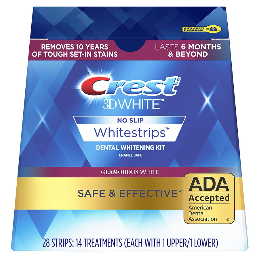 CREST 3D WHITE LUXE GLAMOROUS WHITE WHITESTRIPS - TEETH WHITENING KIT