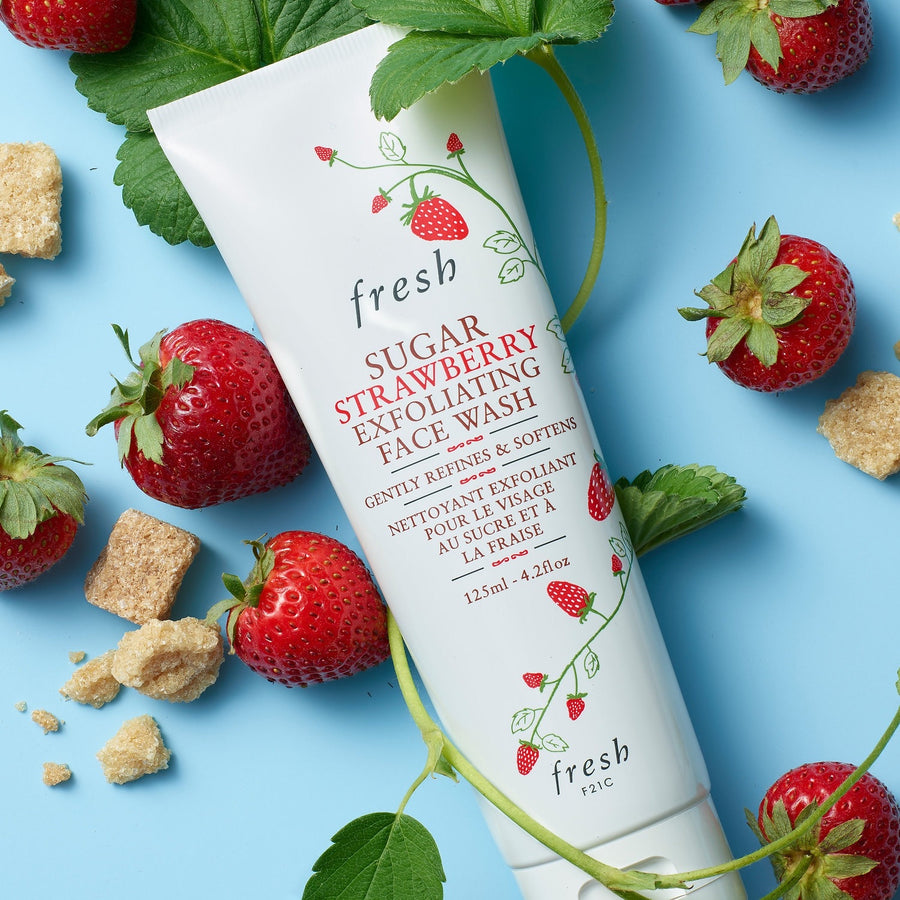 Sugar Strawberry Exfoliating Face Wash