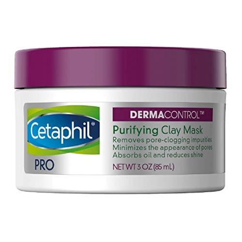 Cetaphil Pro Dermacontrol Purifying Clay Mask With bentonite clay for oily, sensitive Skin