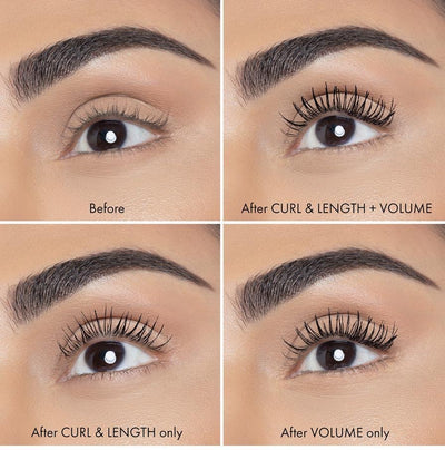 LEGIT LASHES Double-Ended Volumizing and Lengthening Mascara