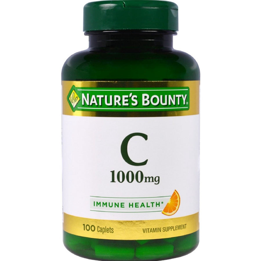 Nature's Bounty Vitamin C 1000 mg Immune Health Caplets 100 ea